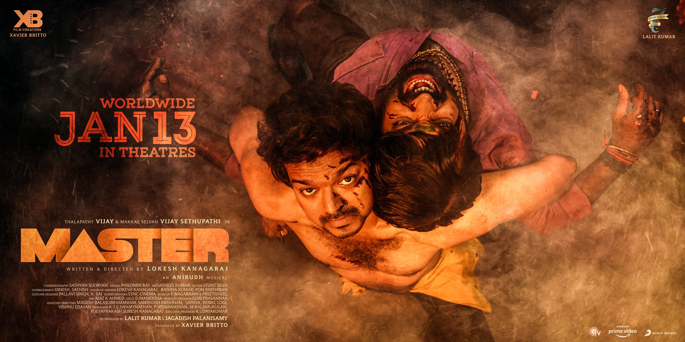Vijay Thalapathi's Master Movie Box Office Collection World Wide & India Wide